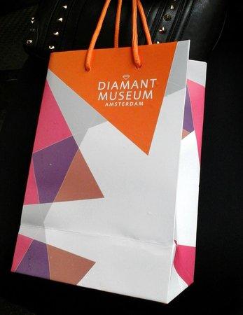 Diamant Museum Amsterdam: Lojinha