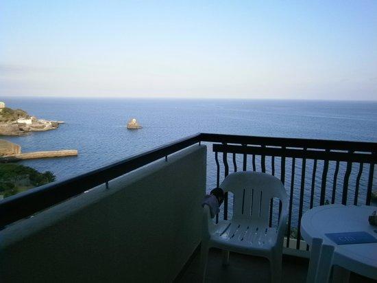 Hotel Baia Azul : Balcon vue sur mer