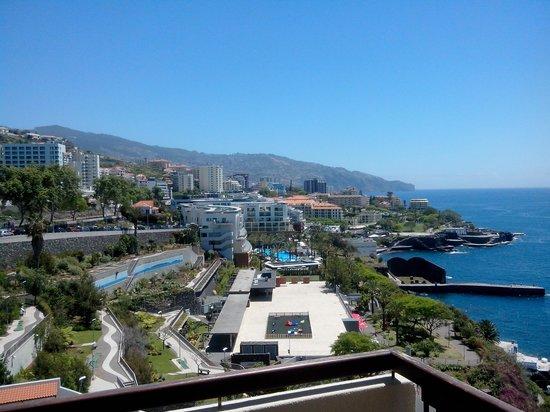 Hotel Baia Azul : Vue du balcon