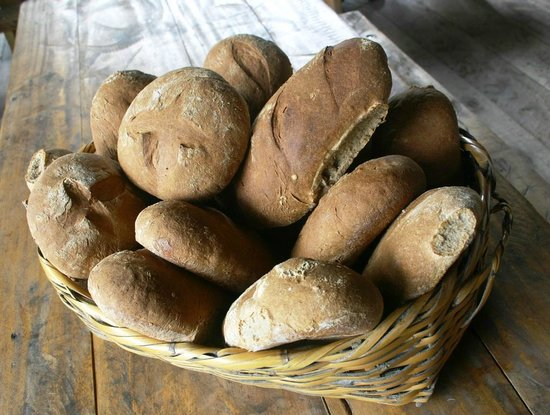 The Beehive: Roasted barley bread!