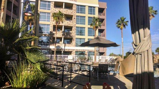 Staybridge Suites Las Vegas: View from cabana