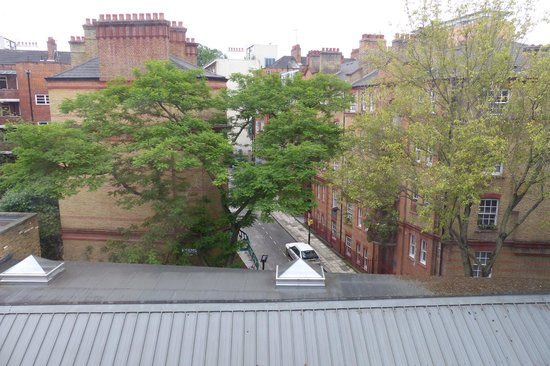 Angus Hotel: View from room window
