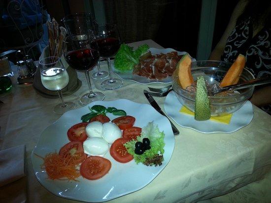 Ristorante Bilacus : Appetizers