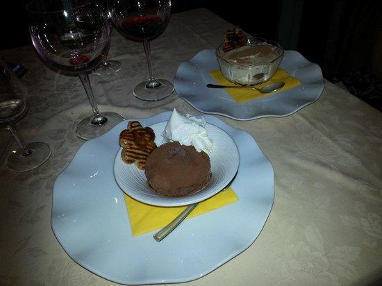 Ristorante Bilacus : Dessert!