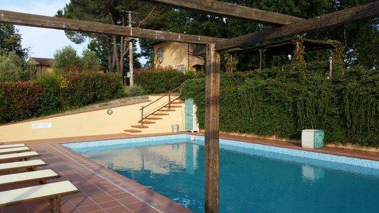 La Rocca dei Briganti: piscina