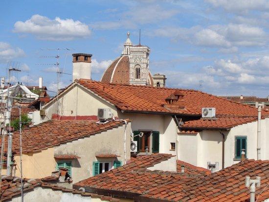 Residenza Fiorentina: Vista del Duomo y el Campanile desde la habitación
