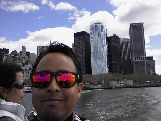 Manhattan Skyline : Skyline to miss liberty