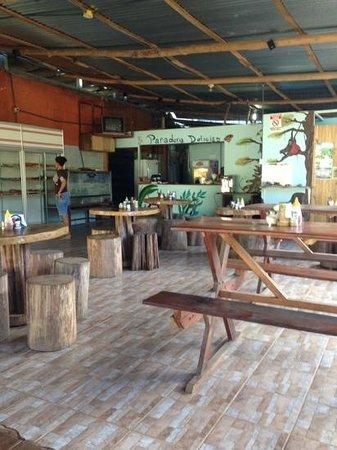 Restaurante Delicias Bahia Drake: first stop each morning