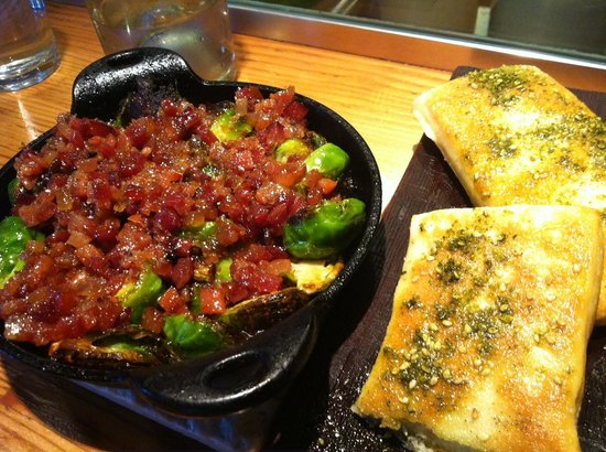 Glen Ellen Star: Brussel sprouts and bacon!