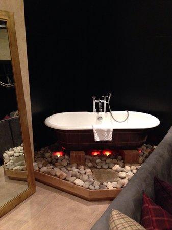Malmaison Hotel: Amazing bath