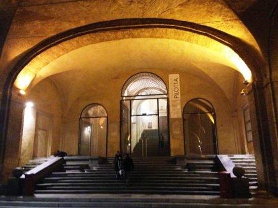 Palazzo della Pilotta : ingresso