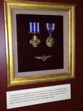 George Bush Presidential Library and Museum - War Medals