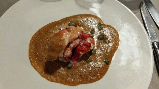 Auberge de la Caillère : Demi homard