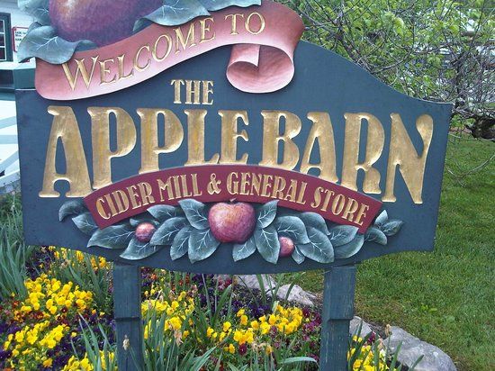 The Apple Barn Cider Mill And General Store: The AppleBarn sign