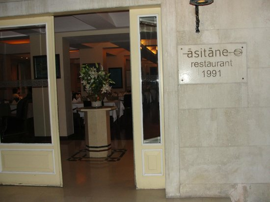 Asitane Restaurant : Entrance