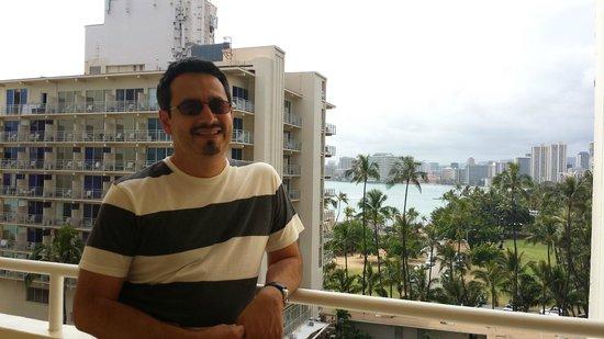 Lotus Honolulu at Diamond Head: outside our room