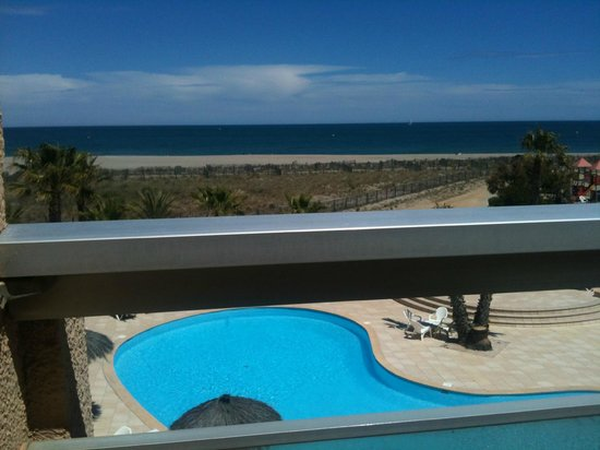 Hotel La Lagune: Vue sur la mer