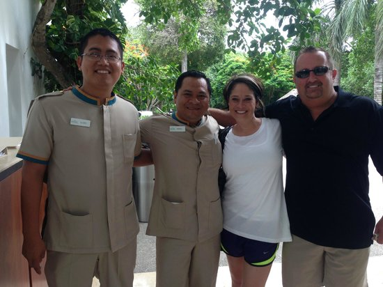 Playacar Palace: Ulisies and Manuel