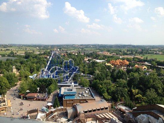 Gardaland Resort: Vista dall'alto