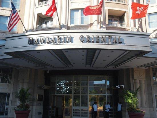 Mandarin Oriental, Washington DC: exterioro
