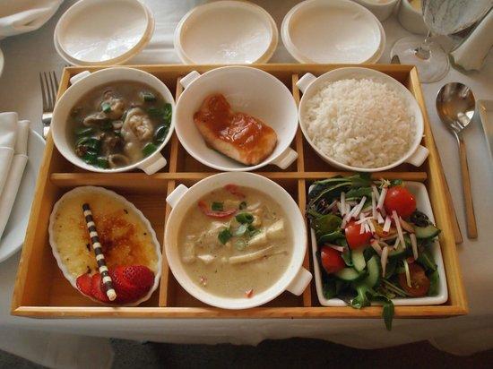 Mandarin Oriental, Washington DC: Bento Dinner