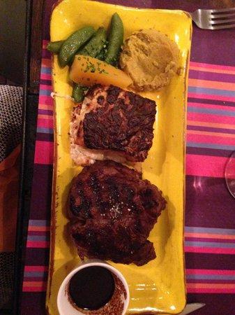Au Coeur du Panier : The steak