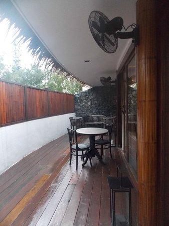Villa Samadhi: Terrace