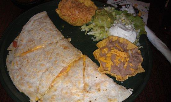 Casa Ramos Mexican Restaurant: Кесадилья с креветками