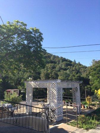 Miner's Motel : Gazebo & BBQ Area