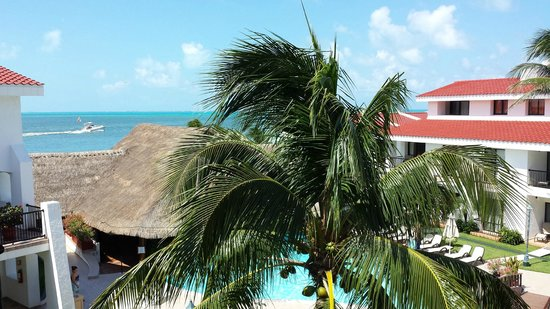 The Royal Cancun All Suites Resort: View from the leaving room