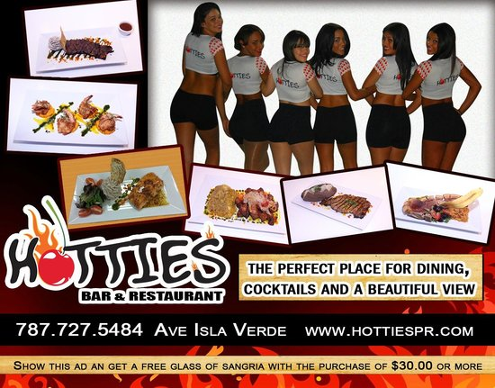 Hotties Bar And Restaurant Puerto Rico
