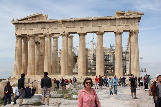 Parthenon: Partenon em restauração