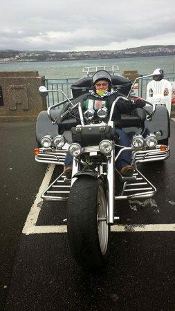 IOM Trike Tours: Dad and I last farewell trip..