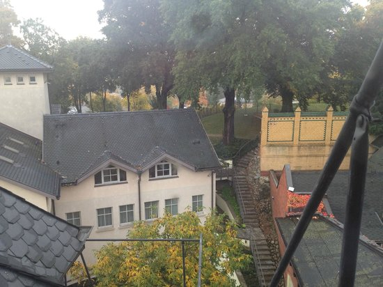 Hotel Villa Monte Vino: Blick aus dem Zimmer