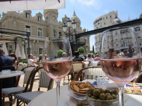 Cafe de Paris Monte-Carlo : great view