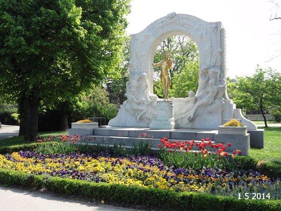 Stadtpark: Johann Strauss
