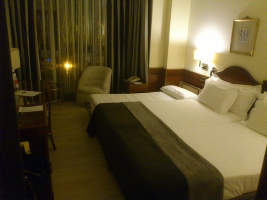 Silken Rio Hotel: SILKEN RÍO Habitación camas 2014-03