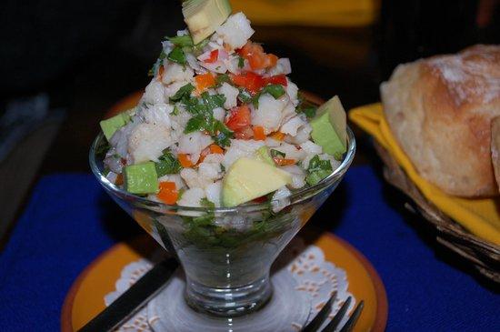 Restaurant Inkazuela : Excellent appetizer.