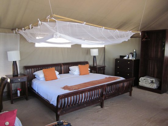 Linyanti Bush Camp: A Look Inside Our Tent