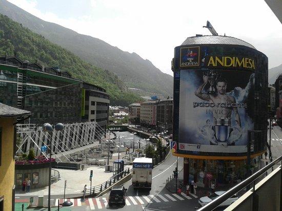Hesperia Andorra la Vella: view from the balcony-to the right