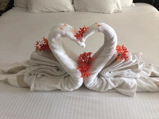 Hidden Beach Resort - Au Naturel Club: sweet towel art