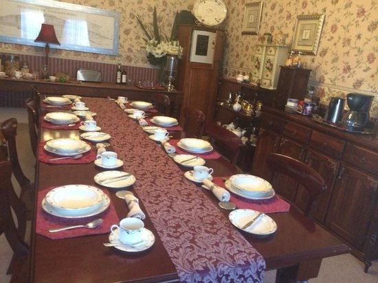 Lauralla B&B: Breakfast room