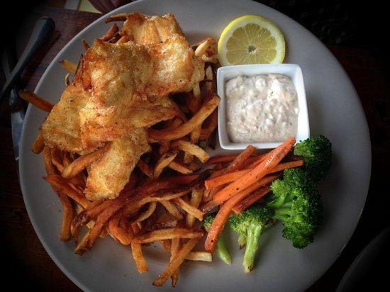 Little Mermaid: Halibut fish & chips - the best!!