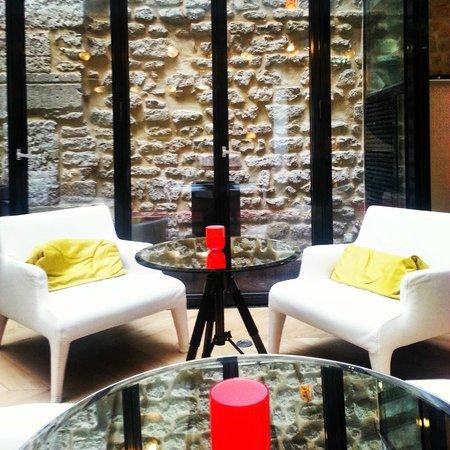 Hôtel Le 123 Sébastopol - Astotel : Dining Area/Lounge