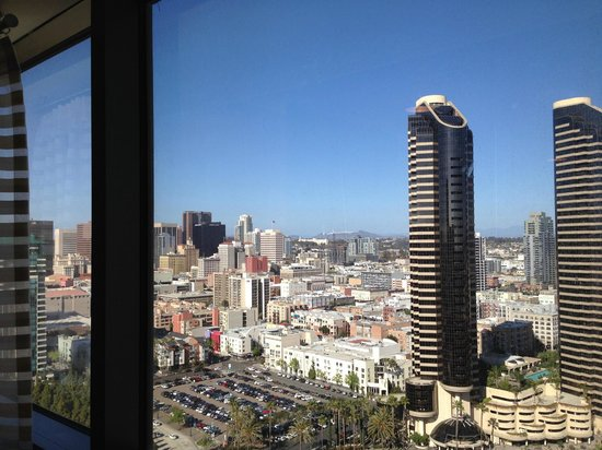 Marriott Marquis San Diego Marina: View from the room