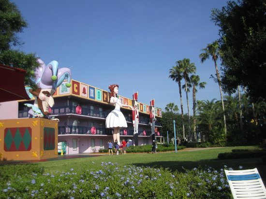 Disney's All-Star Movies Resort: Our Wing