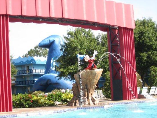 Disney's All-Star Movies Resort: Pool