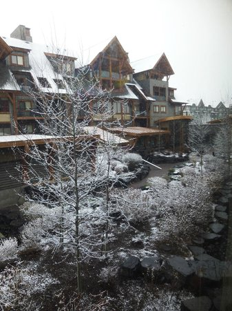 Solara Resort & Spa - Bellstar Hotels & Resorts: View from our room - woke up to a bit of snow.