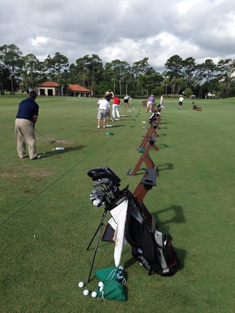 TPC at Sawgrass Stadium Course - range