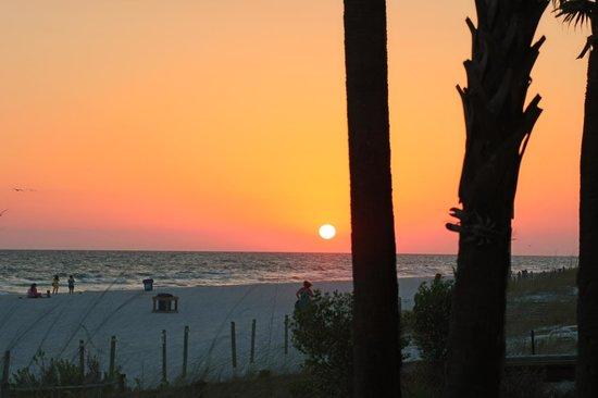 Schooners : Gorgeous sunset